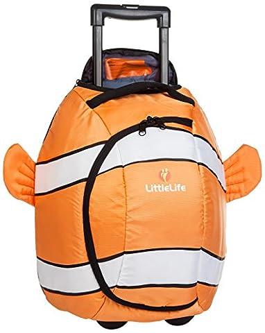 Littlelife Animal Wheelie Luggage - Clownfish