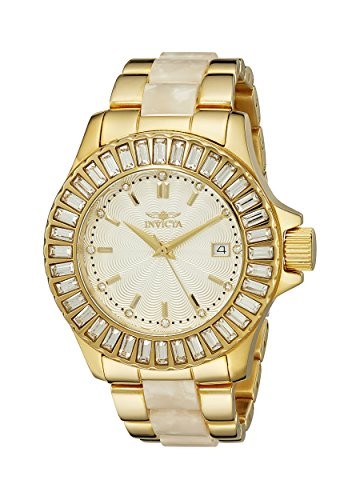 Invicta Women's 17940 Angel Analog Display Swiss Quartz Two Tone Watch