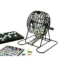 Engelhart-Komplettes-Mini-Bingo-Spiel-mit-Kugel-Bingomolen-135cm-360564 Engelhart – Komplettes Mini-Bingo-Spiel mit Kugel – Bingomolen – 13,5cm – 360564 -