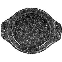 Home Stone Tegamino Cuociuova Antiaderente, Pietra, Nero/Argento, 16 cm