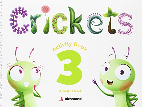 CRICKETS 3 ACTIVITY PACK - 9788466824576