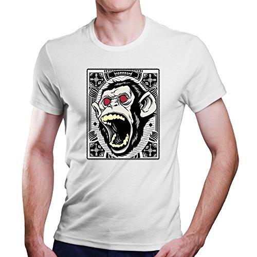 Monkey Scream Affen Schrei T-Shirt / Größe XS-4XL / Ideales Geschenk (XL)