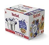 Tefal P4620733 Clipso Minut' Perfect Schnellkochtopf mit Garbkorb und Timer (6L) edelstahl/weiß/rot - 6