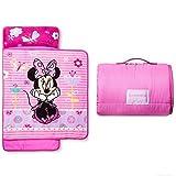 Disney Minnie Mouse Girls Pink Nap Mat con Coperta