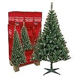 Künstlicher Weihnachtsbaum mit Beleuchtung 180 cm hoch Tannenbaum künstlich Christbaum mit Ständer