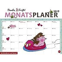 Rosalie & Trüffel Monatsplaner - Kalender 2018