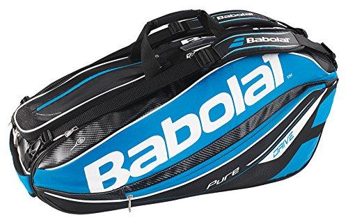 Babolat Schlägertaschen Pure Drive Racket Holder X9, Blau, 75 x 37 x 33 cm, 54 Liter, 751105-136