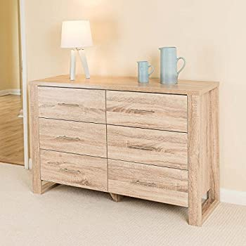 drawers for bedroom. Christow Oak Effect 6 Drawer Bedroom Cabinet Bedside Chest Of Drawers Home Discount of Solid Pine 4