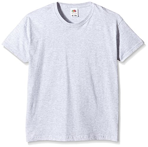 fruit-of-the-loom-ss132b-t-shirt-fille-grey-heather-grey-116-cm-5-6-ans