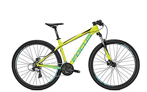 Focus Whistler Elite 29R Twentyniner Mountain Bike 2017 (lime green, 46)