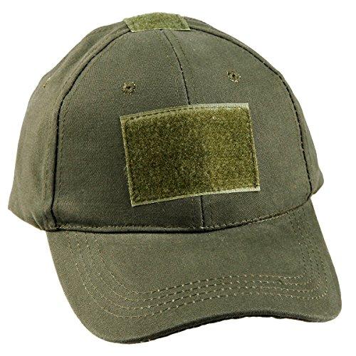 Camouflage Military Style Cap (moonsix Tactical Kappen für Herren, Military Style Camouflage Operator Hüte Jagd Army Mütze Baseball Cap, armee-grün)