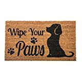 Wipe Your Paws fibra de coco felpudo de perro Welcome