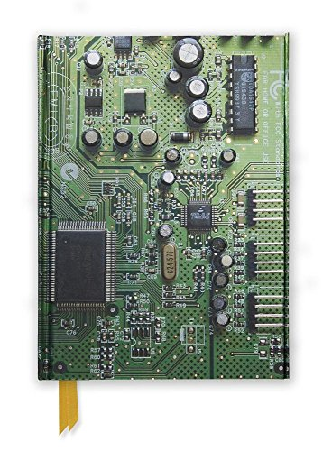 Circuit Board (Foiled Journal) (Flame Tree Notebooks)