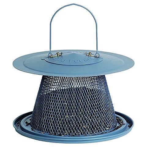 Opus Bell Wild Bird Feeder - Blue