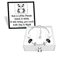 Lucky Panda Charm Bracelet Set with Greeting Card and Gift Box (16)