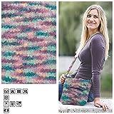 Creative Discount Filzwolle Color 50g, Fb.44, Rose Grün Multi