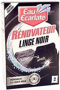 Eau Ecarlate - Rénovateur de Linge Noir 2 Sachets de 50 g