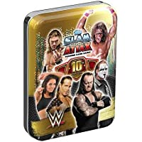 Topps WWE Slam Attax Collector De Cartes à collectionner Mini Tin (One Picked From Random)