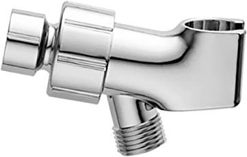 Segolike Universal Chrome Shower Head Holder Arm Mount Adjustable Screwed ON Bracket