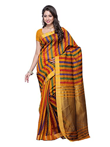Saree Fancy (Mimosa Fancy Kanchipuram Raw Silk Saree(3100-Prs13-Gold))