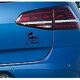 Aufkleber Go Vegan! Auto jdm oem Sticker Aufkleber Audi Vw BMW 11x10cm