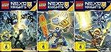 Lego Nexo Knights - Staffel 4 (4.1+4.2+4.3) im Set - Deutsche Originalware [3 DVDs]