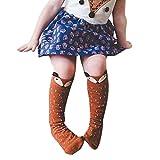 Ouneed® 0-1 ans Enfant Bebe Renard Chausettes Hauts 24cm (Marron)