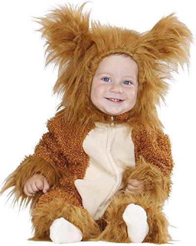 Costume carnevale bimbo, animale leone *22735 primi mesi -12/24 mesi