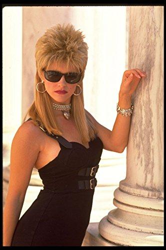 420035 Danielle In A Black Dress And Sunglasses (3_4 Shot) A4 Photo Poster Print 10x8