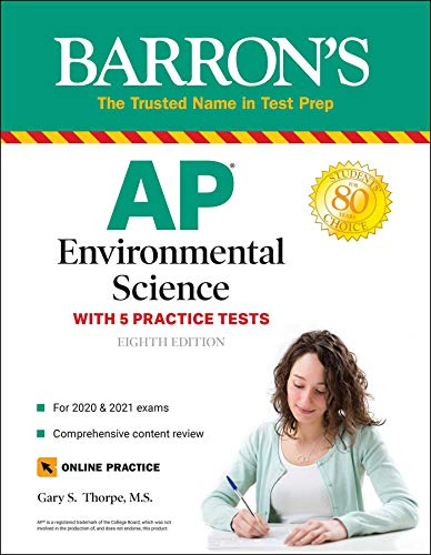 AP Environmental Science: With 5 Practice Tests (Barron's Test Prep)