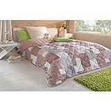 Tagesdecke in vielen Designs, gesteppter Bett- und Sofaüberwurf XXL ( 220x240cm - Prato )