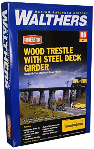 Spur H0 -- Bausatz Holzbrücke