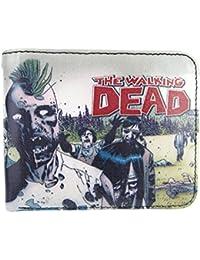 The Walking Dead - Cartera para hombre  Hombre Blanco multicolor