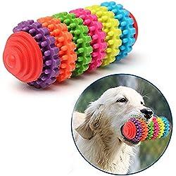 ETGtek(TM) 1pcs de los dientes del engranaje de gomas de mascar de perro de juguete para mascotas colorido del perrito de juguete de la dentición dental sano no tóxico (de colores)
