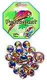 Unbekannt Kim'Play Spielzeug für den Sommer, Murmel-Spiel, 20Kugeln + 1große Kugel, Papagei