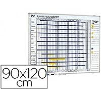 PLANNING MAGNETICO 1000/50 ANUAL DIA A DIA SUPERFICIE BLANCA ROTULABLE TAMAÑO 90X120 CM