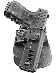 Fobus nouvelle tactique caché portez poche pistolet étui avec système de déclenchement de verrouillage Holster pour Glock 17, 19 polymère noir