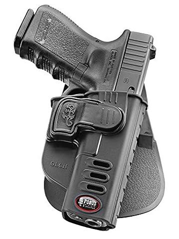 Fobus neu verdeckte Trage LINKE HAND Pistolenhalfter Sicherungs Trigger Sicherheit Zuhaltungs system Halfter Holster für Glock 17, 19