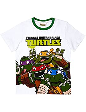 Ninja Turtles Jungen T-Shirt - weiß