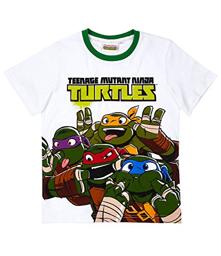 Ninja Turtles Jungen T-Shirt - weiß - ()