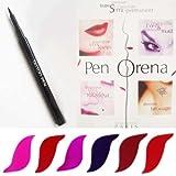 PenOrena ® Paris- Feutre Semi-Permanent 2 ml - Effet Tatouage Contour des Lèvres - Rouge