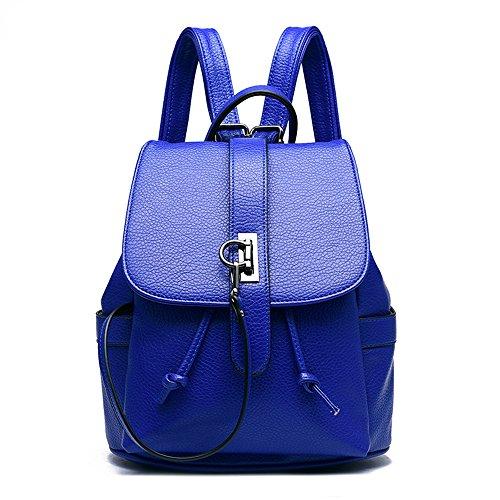 Himozoo, Borsa a zainetto donna blu Blue Blue