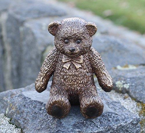 H. Packmor GmbH Süße kleine Figur eines Teddybär aus Bronze gefertigt