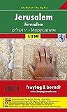 Jerusalem, Stadtplan 1:9.000 - 1:12.500, City Pocket + The Big Five, freytag & berndt Stadtpläne - Freytag-Berndt und Artaria KG