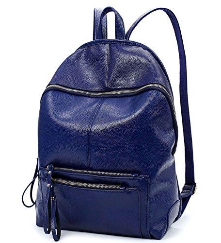 Zaino Solido Ms. Dimensioni 30 * 13 * 38 Cm Regolabile Blue