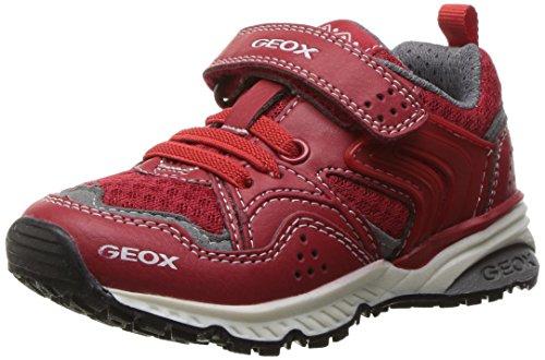 Geox J Bernie C, Zapatillas Niños, Rojo (Redc7000), 31 EU