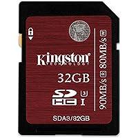 Kingston SDA3/32GB SDHC/SDXC 32GB Ultra High-Speed Class 3 Speicherkarte