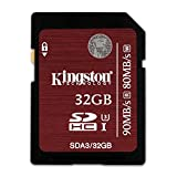 Kingston SDA3/32GB SDHC/SDXC 32GB Ultra High-Speed Class 3 Speicherkarte