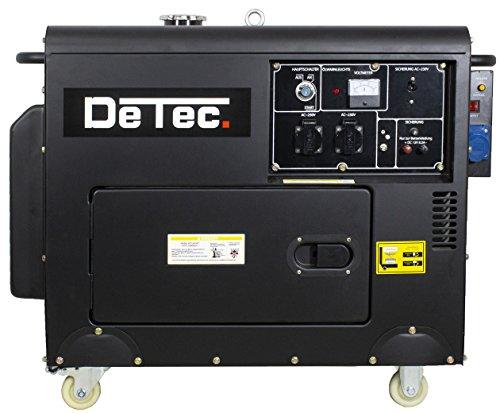 Usato, Detec. Generatore di corrente diesel 1fasi di corrente usato  Spedito ovunque in Italia