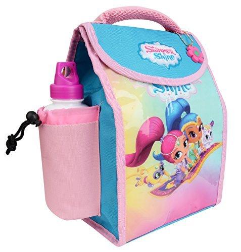 Charakter Kinder Kinder Lunchbox Tasche mit Sport Wasserflasche - wunderbare Damen, medium glänzend und Glanz